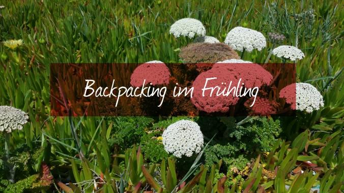 Backpacking im Frühling (1)